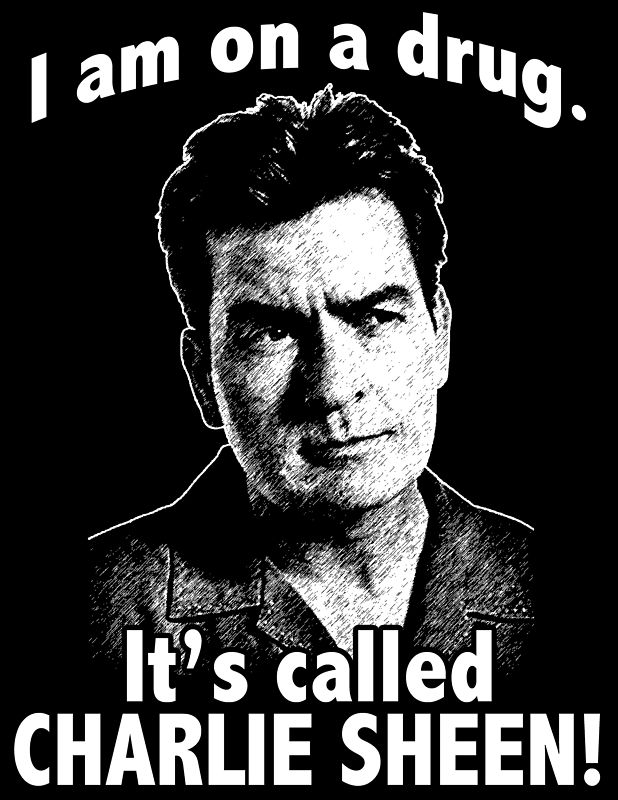 charlie sheen drugs. Charlie Sheen. March 9, 2011